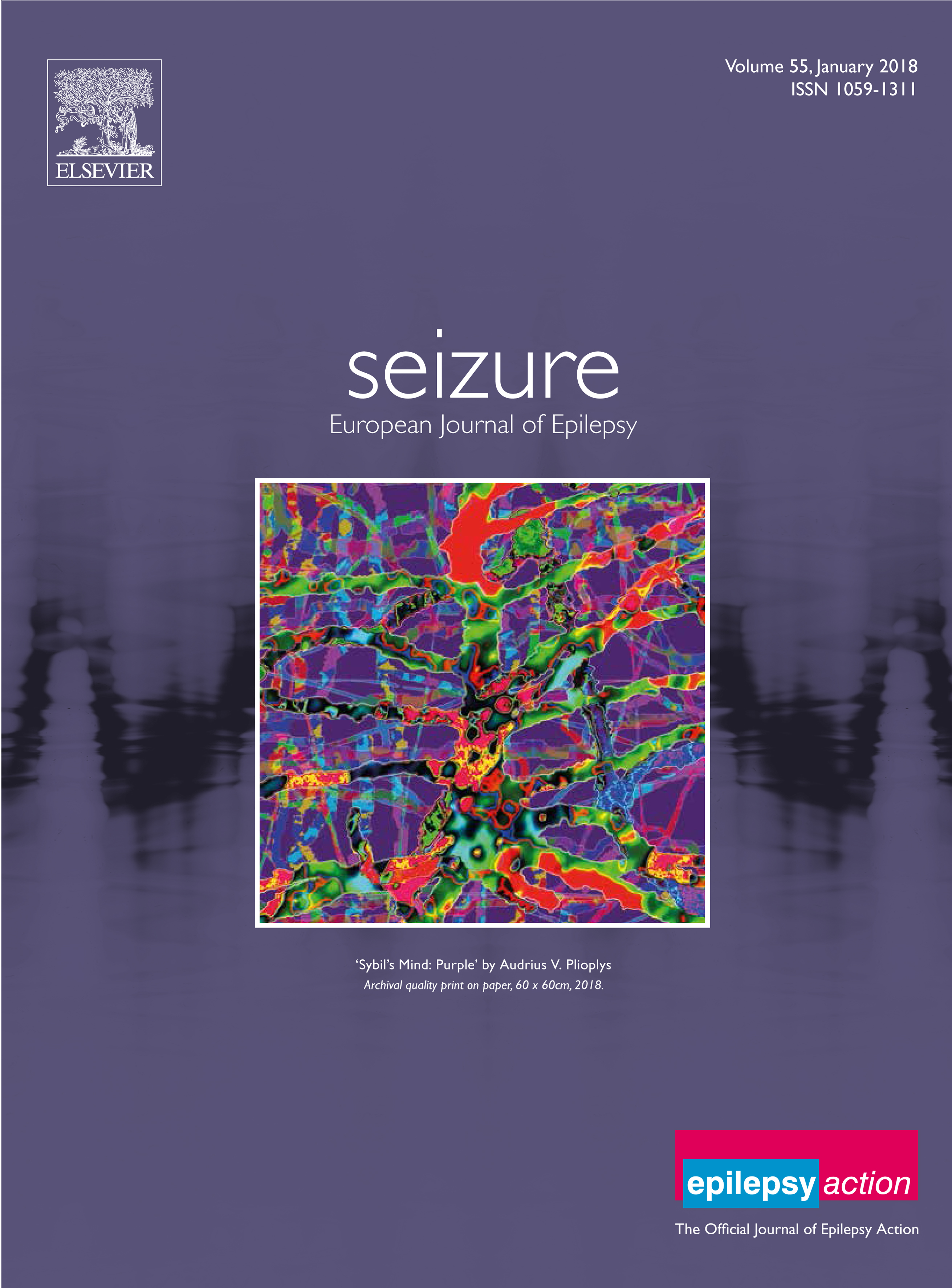 Seizure front cover 2018